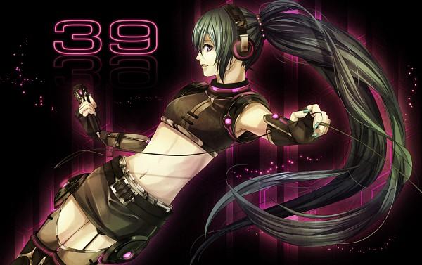 Tags: Anime, VOCALOID, Hatsune Miku, Wallpaper