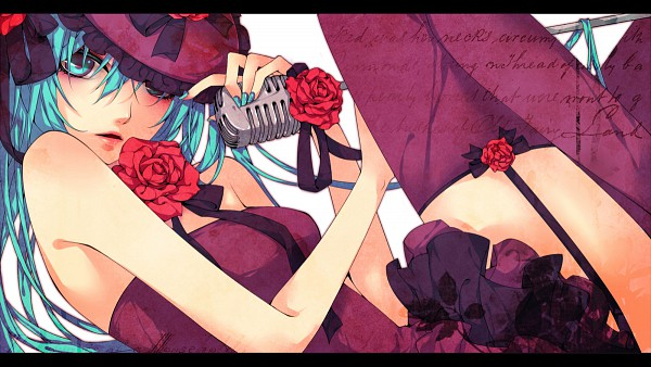 Tags: Anime, Natsuki0910, VOCALOID, Hatsune Miku, Wallpaper, Facebook Cover, PNG Conversion, Pixiv