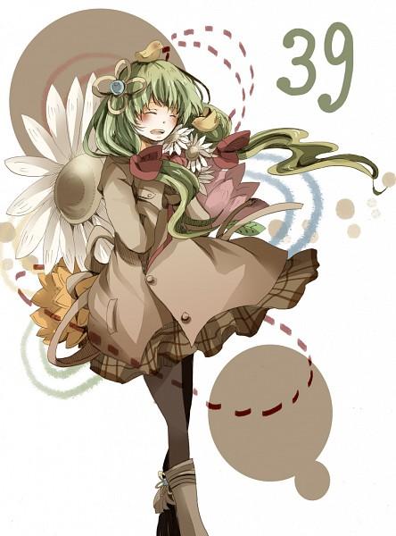 Tags: Anime, Rio (Pixiv2011923), VOCALOID, Hatsune Miku, Chicken