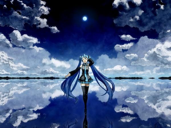 Tags: Anime, Bob (Biyonbiyon), VOCALOID, Hatsune Miku, (7) 1, Pixiv, Wallpaper, Piapro Illustrated, Fanart