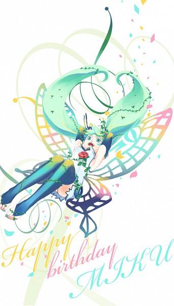 Tags: Anime, Pi-ko, VOCALOID, Hatsune Miku, Pixiv