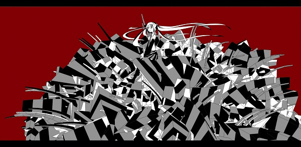Tags: Anime, Meola, VOCALOID, Hatsune Miku, Abstract Background
