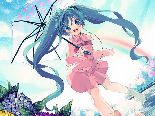 Tags: Anime, Amezawa Koma, VOCALOID, Hatsune Miku, Khamikage, DECO*27, Ai Kotoba, Nico Nico Douga