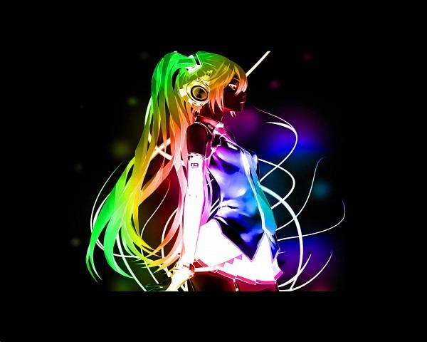 rainbow and black emo wallpaper - photo #38