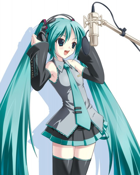 Tags: Anime, Amino Kohaku, Supplement Time, VOCALOID, Mirai no Kimi to Subete no Uta ni, Hatsune Miku