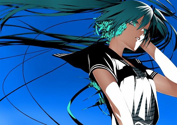 Tags: Anime, Onigunsou, VOCALOID, Hatsune Miku, Fanart, Pixiv