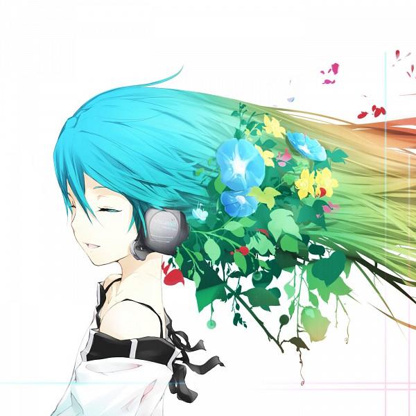 Tags: Anime, Irena, VOCALOID, Hatsune Miku, Morning Glory, Fanart, Pixiv