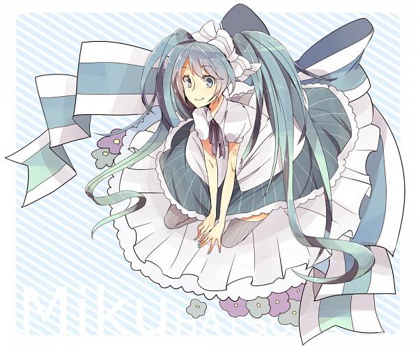 Tags: Anime, VOCALOID, Hatsune Miku, Piapro Illustrated