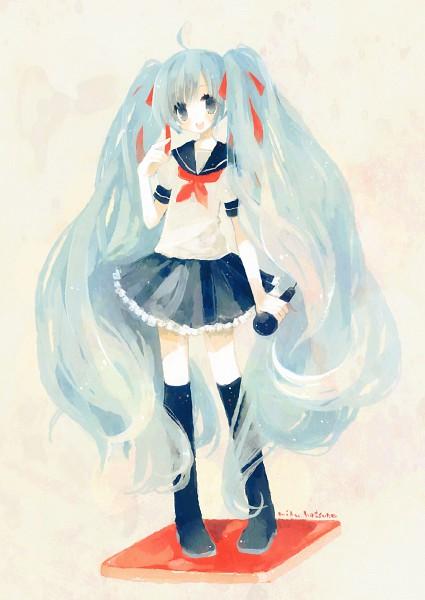Tags: Anime, Kashiwaba Hisano, VOCALOID, Hatsune Miku