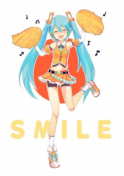 Tags: Anime, Souno Kazuki, VOCALOID, Hatsune Miku, Bike Shorts, Mobile Wallpaper, Cheerful JAPAN
