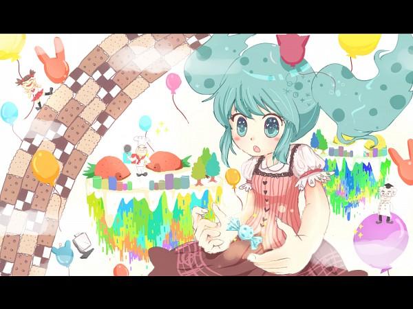 Tags: Anime, Pixiv Id 917107, VOCALOID, Hatsune Miku, Pixiv, Fanart