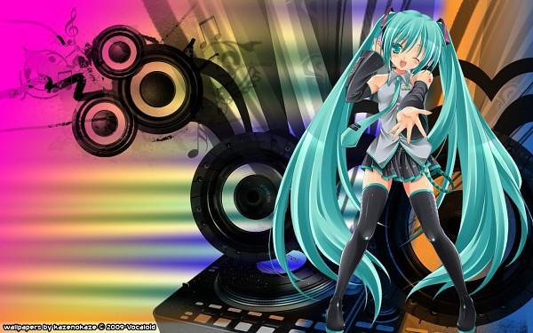 Tags: Anime, VOCALOID, Hatsune Miku, 1440x900 Wallpaper, Wallpaper