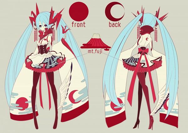 Tags: Anime, Ryuuguu Tsukasa, VOCALOID, Hatsune Miku, Wa Lolita, Cheerful JAPAN, Character Sheet