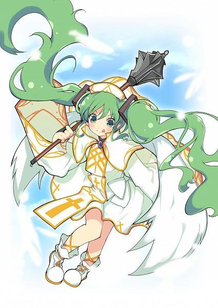 Tags: Anime, Yaegashi Nan, Alteil, VOCALOID, Hatsune Miku, Official Card Illustration, Official Art, Refess