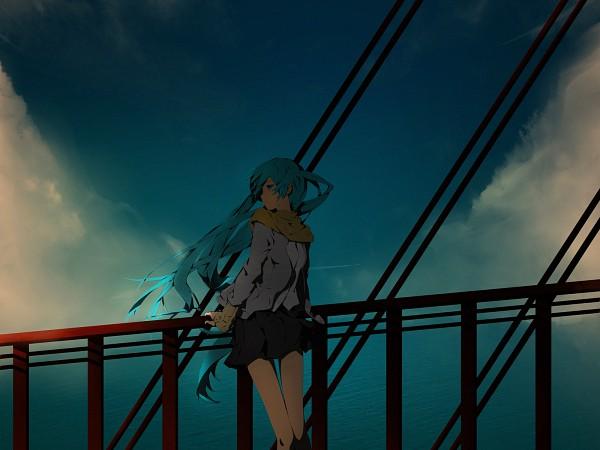 Tags: Anime, Irena, VOCALOID, Hatsune Miku, Fanart, Pixiv, Wallpaper