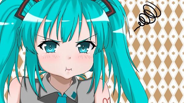 Tags: Anime, Pixiv Id 760898, VOCALOID, Hatsune Miku, Boku wa Tomodachi ga Sukunai (Parody), Facebook Cover, Stop Nagging Me!