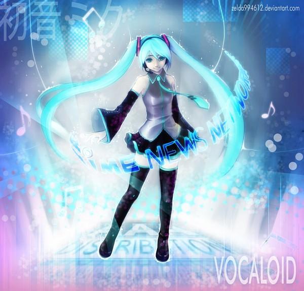 Tags: Anime, Zelda C. Wang, VOCALOID, Hatsune Miku, deviantART