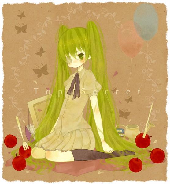 Tags: Anime, Pixiv Id 2656486, VOCALOID, Hatsune Miku, Pixiv, Top Secret
