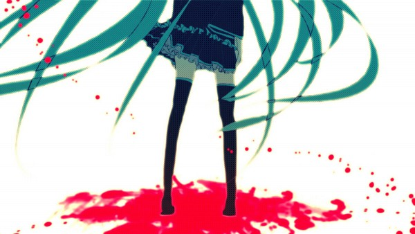 Tags: Anime, Meola, VOCALOID, Hatsune Miku, Pixiv, Wallpaper, Facebook Cover