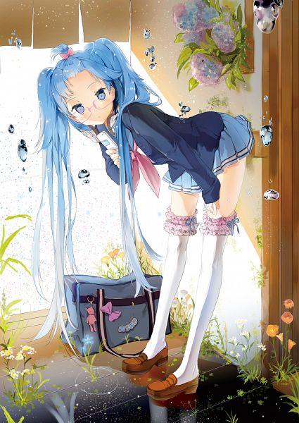 Tags: Anime, Anmi, VOCALOID, Hatsune Miku, Mobile Wallpaper, Fanart, Pixiv