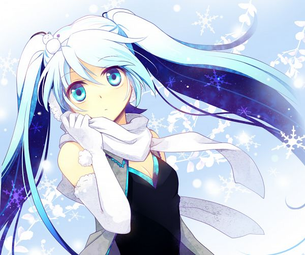 Tags: Anime, Miyu (Matsunohara), VOCALOID, Hatsune Miku, Yuki Design