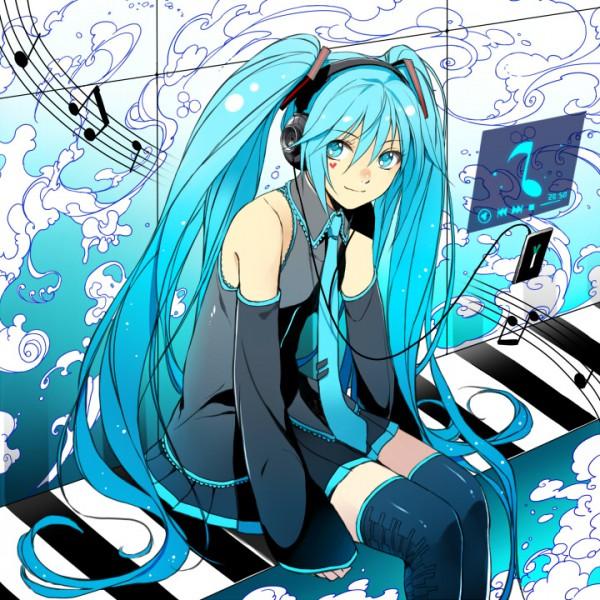 Tags: Anime, Ryou Kimagure, VOCALOID, Hatsune Miku