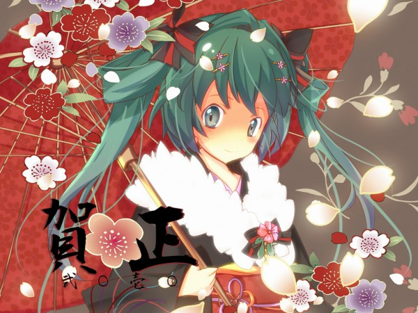 Tags: Anime, VOCALOID, Hatsune Miku, Wallpaper