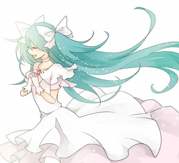 Tags: Anime, Koyubi, VOCALOID, Hatsune Miku, Ultimate Madoka (Cosplay)