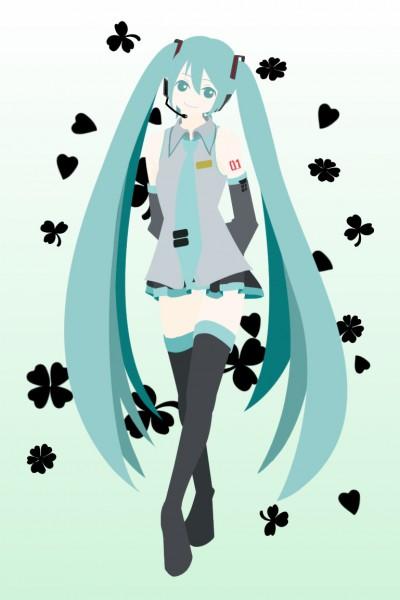 Tags: Anime, Pixiv Id 353641, VOCALOID, Hatsune Miku, Pixiv