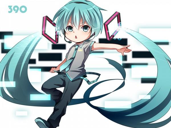 Tags: Anime, Tsujio, VOCALOID, Hatsune Mikuo