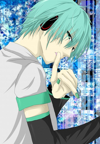 Tags: Anime, Pixiv Id 1295314, VOCALOID, Hatsune Mikuo