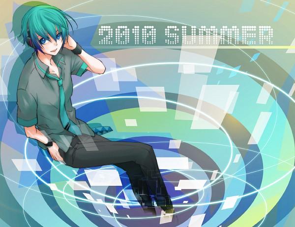 Tags: Anime, Cat0178, VOCALOID, Hatsune Mikuo, Pixiv, Fanart