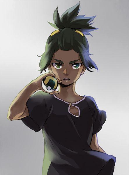 Tags: Anime, Pixiv Id 4118623, Pokémon Sun & Moon, Pokémon, Hau (Pokémon), Fanart From Pixiv, Pixiv, Fanart