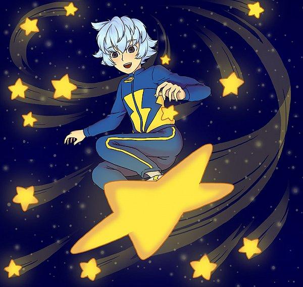 Tags: Anime, Pixiv Id 330276, Inazuma Eleven, Hayaboshi Tsuneaki, Star (Object), Surfing, Track Pants, Fanart, Fanart From Pixiv, Pixiv, Tsuneaki Hayaboshi