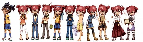 Tags: Anime, Pixiv Id 386011, Inazuma Eleven GO, Hayami Tsurumasa, Track Pants, Fanart, Fanart From Pixiv, Pixiv
