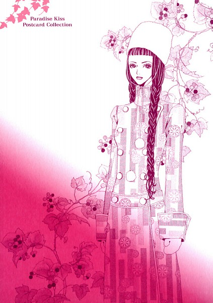 Tags: Anime, Yazawa Ai, Paradise Kiss, Hayasaka Yukari, Official Art, Post Card, Scan