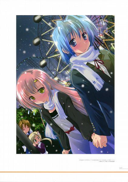 Tags: Anime, Komatsu Eji, Hayate no Gotoku!, Komatsu Eji @ART BOOK (Master Artworks), Sanzenin Nagi, Katsura Hinagiku, Scan, Hayate The Combat Butler