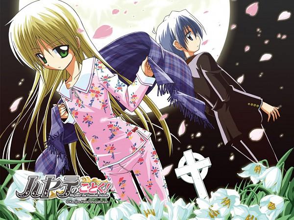 Tags: Anime, Hayate no Gotoku!, Hayate Ayasaki, Sanzenin Nagi, Wallpaper, Official Art, Hayate The Combat Butler