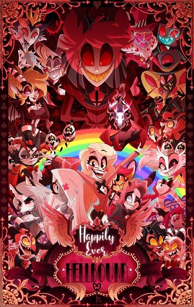 Tags: Anime, Ladygvalentine, Hazbin Hotel, Helluva Boss, Loona (Helluva Boss), Lucifer (Hazbin), Valentino (Hazbin), Blitzo, Millie (Helluva Boss), Sir Pentious, Vox (Hazbin), Moxxie (Helluva Boss), Alastor (Hazbin)