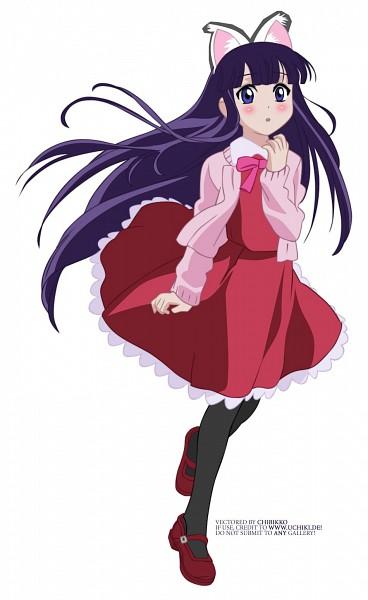 Tags: Anime, Tsukuyomi: Moon Phase, Hazuki (Tsukuyomi: Moon Phase), Vector