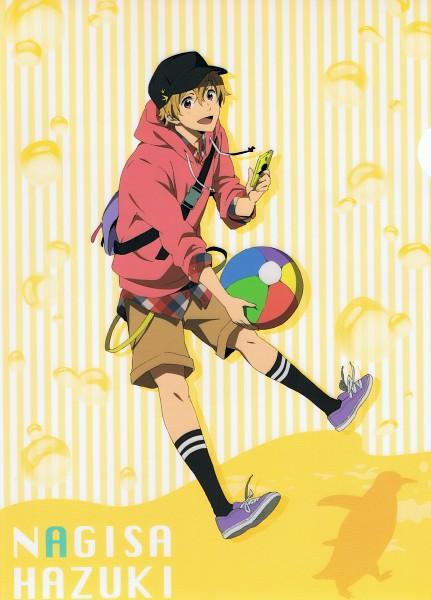 Tags: Anime, Utsumi Hiroko, Kyoto Animation, Free!, Hazuki Nagisa, Mobile Wallpaper, Official Art, Scan