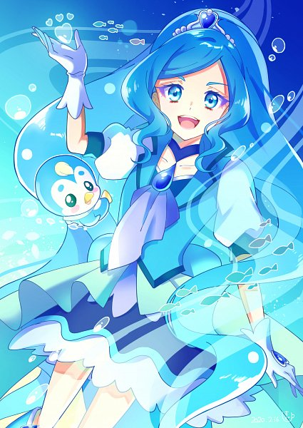 Tags: Anime, Pixiv Id 34576264, Healin'Good♥Precure, Pegitan, Sawaizumi Chiyu, Cure Fontaine, Pixiv