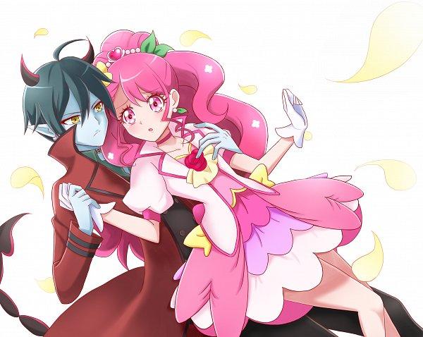 Tags: Anime, Pixiv Id 16594740, Healin'Good♥Precure, Hanadera Nodoka, Cure Grace, Daruizen, Pixiv, Fanart, Fanart From Pixiv