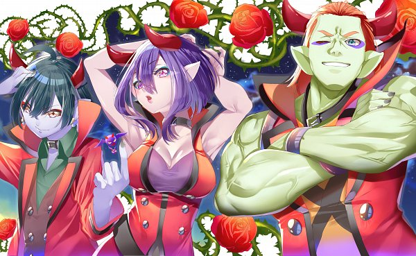 Tags: Anime, Yuutarou (Pixiv822664), Healin'Good♥Precure, Guaiwaru, Shindoine, Daruizen
