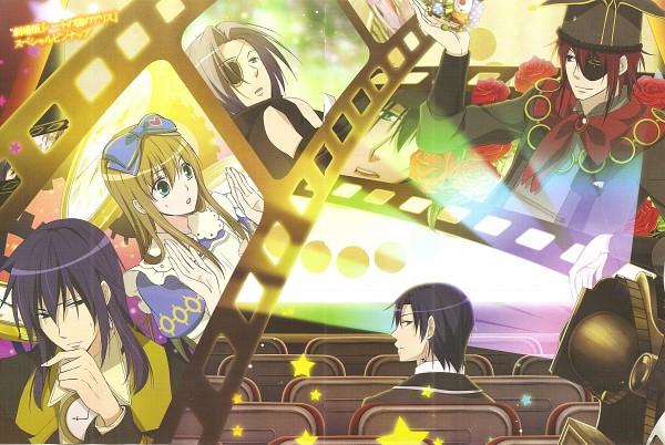 Tags: Anime, QuinRose, Heart no Kuni no Alice, Nightmare Gottschalk, Alice Liddell, Julius Monrey, Blood Dupre, Joker (Heart no Kuni no Alice), Grey Ringmark, Alice In The Country Of Hearts