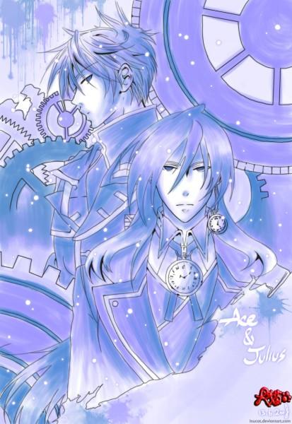 Tags: Anime, Heart no Kuni no Alice, Julius Monrey, Ace (Heart no Kuni no Alice), Alice In The Country Of Hearts