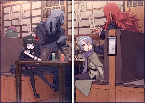 Tags: Anime, Kuroboshi Kouhaku, Heartcatch Precure!, GRANADA LEVEL P, Professor Sabaaku, Dune, Dark Precure, Olivier (Precure), Baron Salamander, Scan, Fanart, Desert Apostles