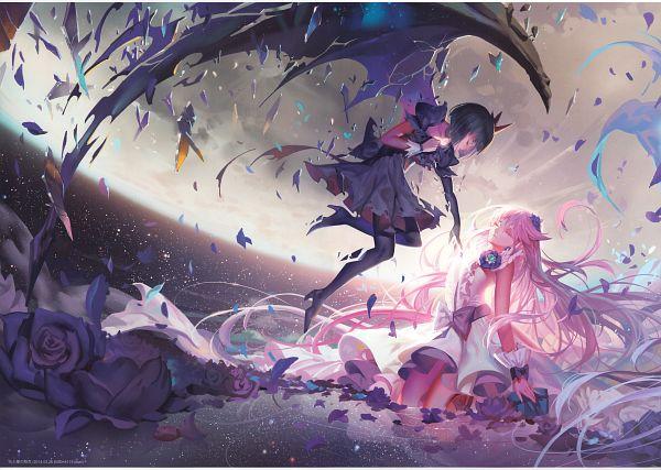 Tags: Anime, Alphonse, Heartcatch Precure!, Kaleidoscope - side B, Cure Moonlight, Tsukikage Yuri, Dark Precure, Comic Market, Scan, Comic Market 87