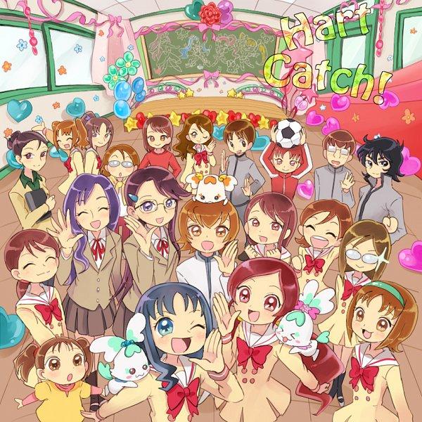 Tags: Anime, Pixiv Id 210786, Heartcatch Precure!, Ueshima Sayaka, Sawai Naomi, Coffret, Takagishi Azusa, Sakuma Toshiko, Tada Kanae, Shypre, Shiku Nanami, Potpourri, Hanasaki Tsubomi