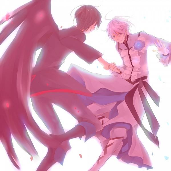 Tags: Anime, Mochigon, Heartcatch Precure!, Cure Moonlight, Tsukikage Yuri, Dark Precure, Fanart